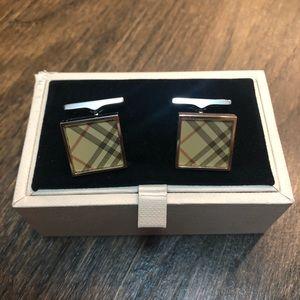Burberry cufflinks